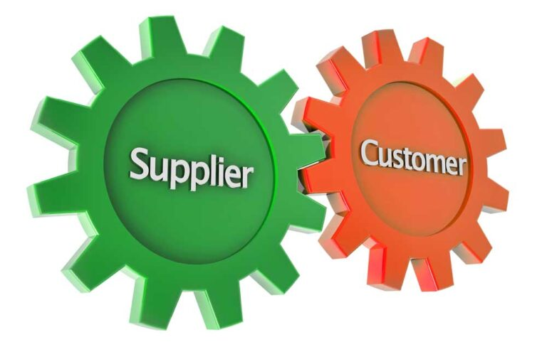 Supplier and customer cogs